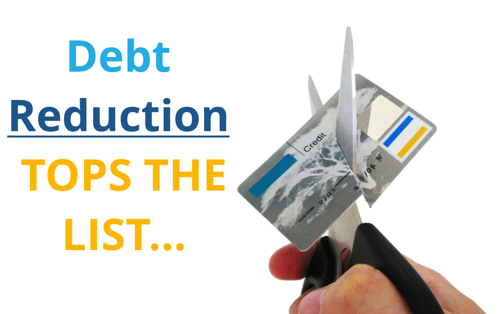 Debt Reduction Tops The List - We're Your Mortgage Broker ...